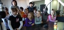 Obisk učencev 2. razreda na Murskem valu in Vestniku